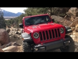 New Jeep Wrangler JLU Rubicon Attempts Carnage Canyon
