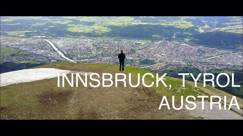 INNSBRUCK, TYROL, AUSTRIA (4K) - DJI Mavic Pro