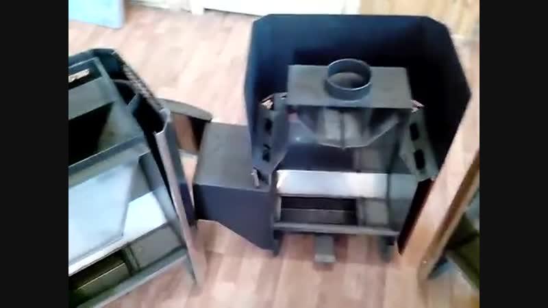 Чем одна печь для бани отличается от другой, на примере разрезанных образцов кла
