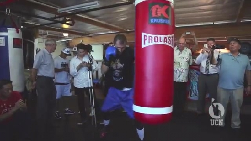 Sergey Kovalev Open Workout 7915 - UCN EXCLUSIVE (Low)