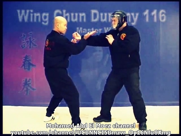 Master Wong Wing Chun 116 Wooden Dummy Full DVD