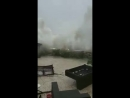 WATCH Super Typhoon Mangkhut shows its presence with a giant wave in beachside village She