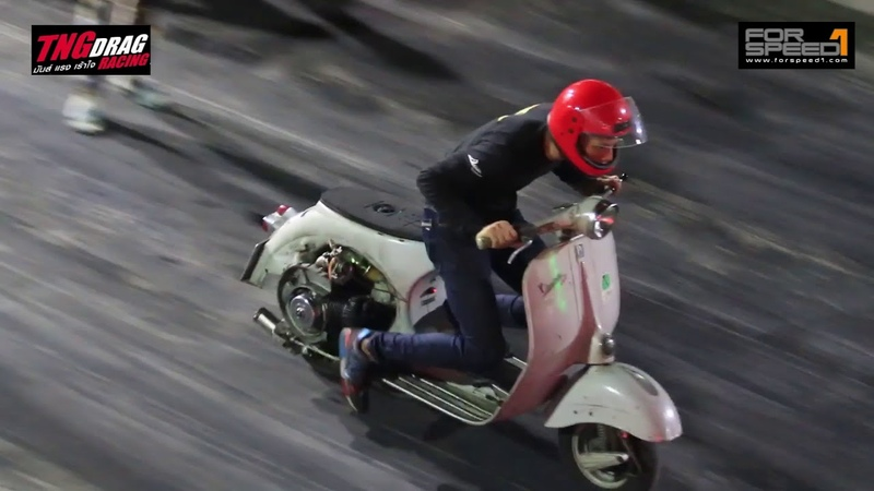 Scooter รุ่น Junior Pro งาน TNG Scooter Drag Day 2018