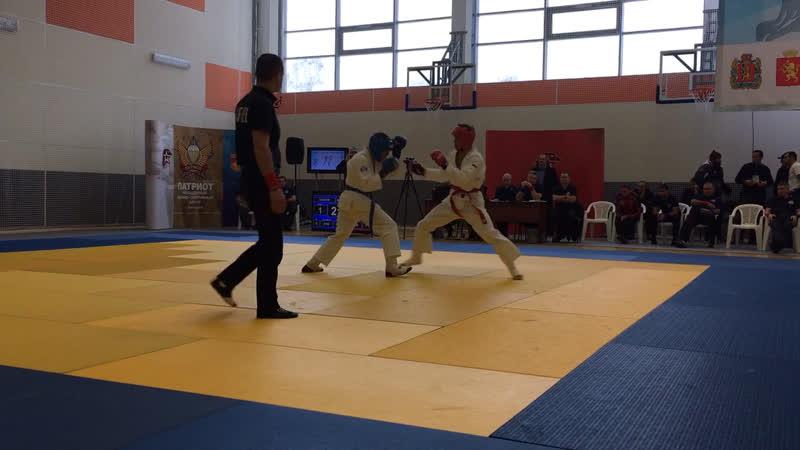 Чемпионат России 2 бой Тахир Токарев