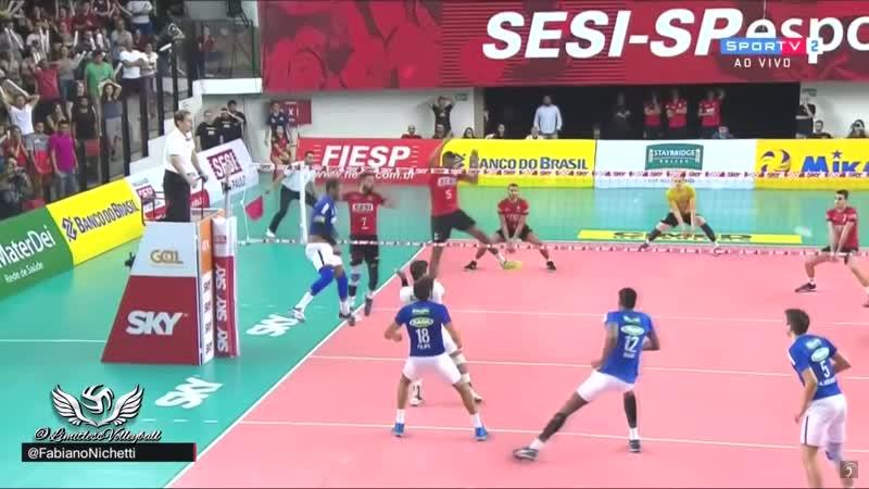 10 CRAZY height volleyball blocks !!