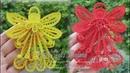 Quilling Christmas Angel | DIY Christmas Angel Christmas Ornaments
