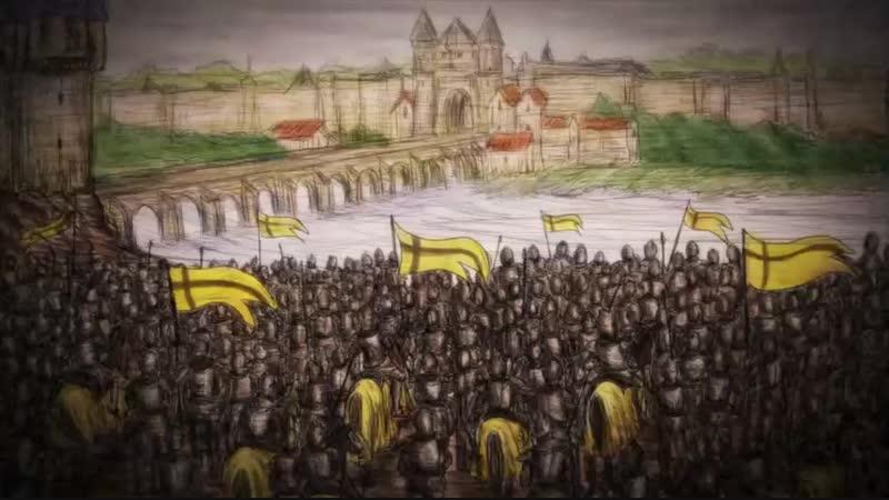 улисс жанна дарк и рыцарь алхимик 9 серия от анимевост.орг