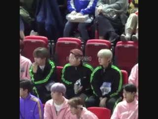 When you put monsta x among the normal idols, this is what happened