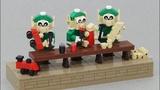 Elf Workshop Kinetic LEGO Model