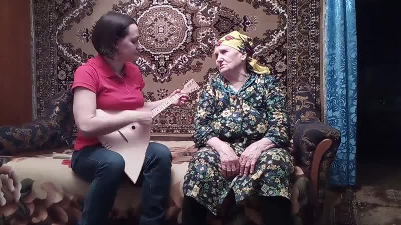 Матаня - Сухинина Мария Васильевна, с. Солдатское, Острогожского р-на