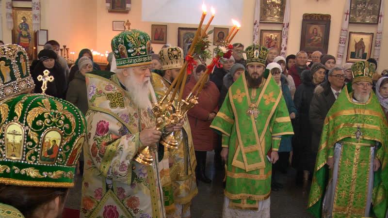 У Полтаві Святійший Патріарх Філарет вшанував память преподобного Паїсія Величковського