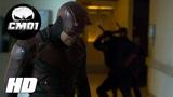 Daredevil vs Ninjas Hospital Fight Daredevil Season 2 (2016)