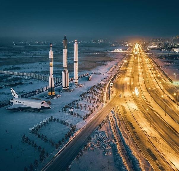 Астана, Казахстан. Национальный космический центр.