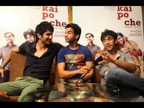 Kai Po Che I Boys just want to have fun I Promotional Event