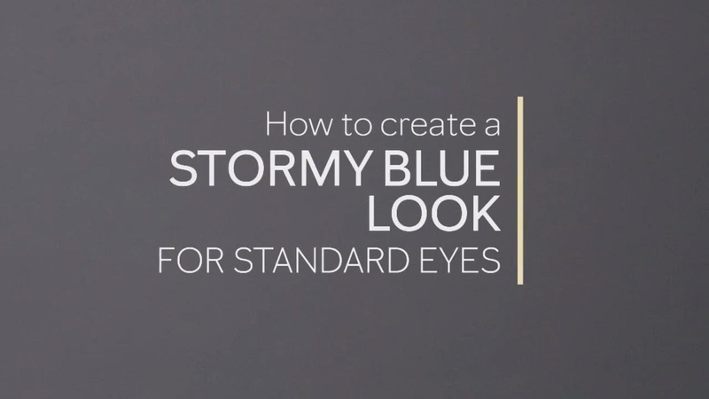 Stormy Blue Standard Eye Application