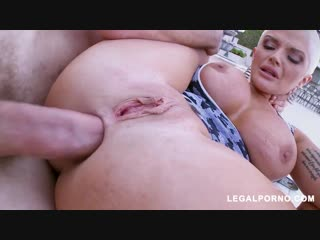 Joslyn james does hot anal outside, juicy plumper big ass tits anal porno