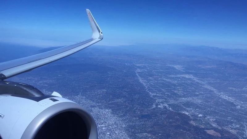 Alaska Airlines Airbus A321-253neo Takeoff from Los Angeles International Airport