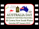 Australia Day 2019 @ Cowra NSW Ringing of the World Peace Bell 26012019