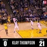 """Ballislife on Instagram: """"Coaches tell you to """"Stop dribbling the basketball so damn much."""" for a reason.  That reason: Klay Thompson just scored 4..."""