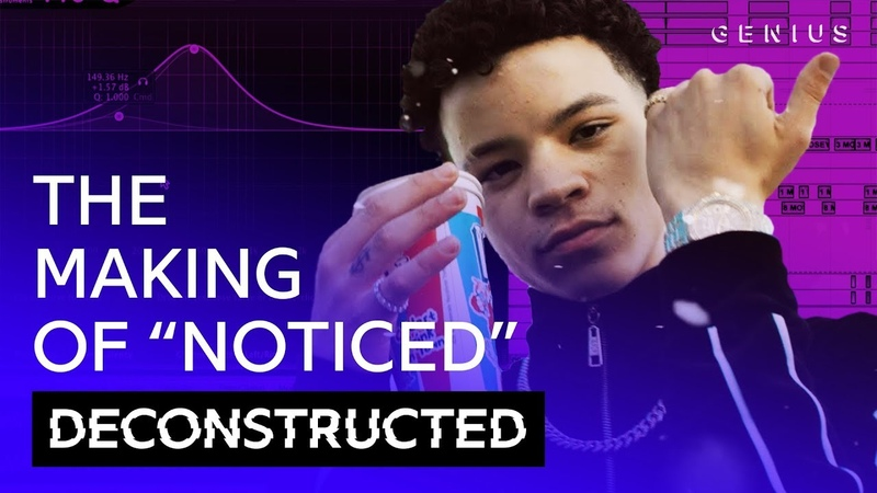 The Making Of Lil Mosey's Noticed With Royce David | Deconstructed