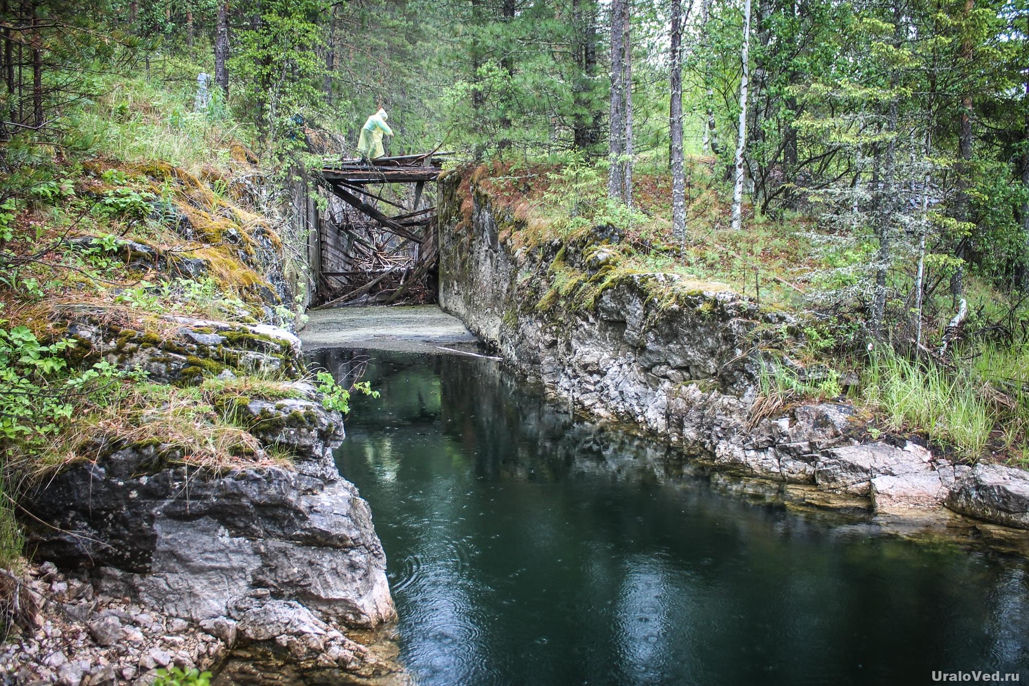 Плотина на реке Талица