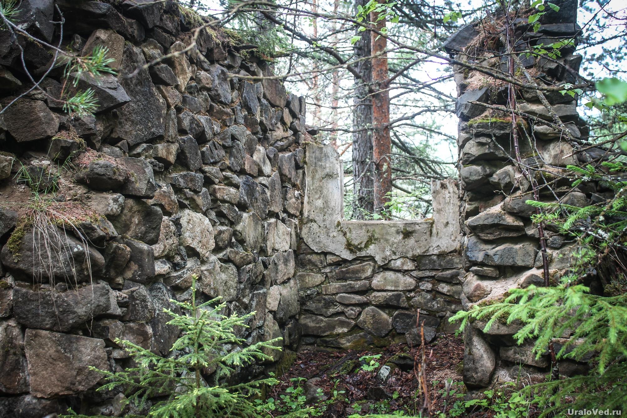 Руины карцера