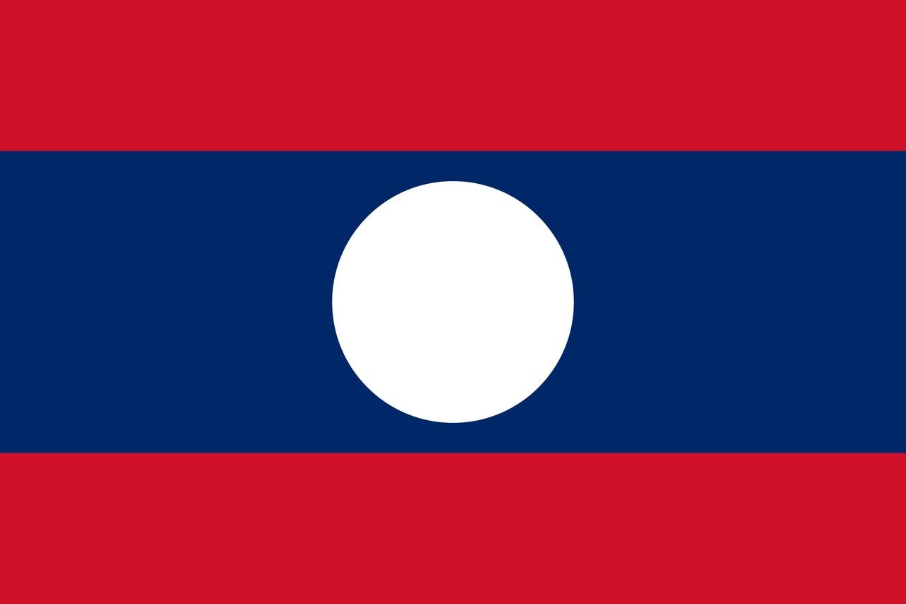 Флаг Лаос