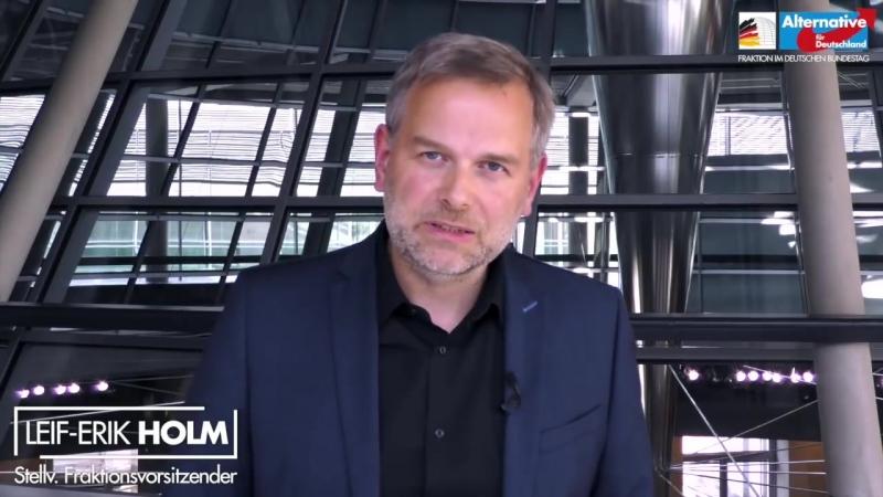 Leif-Erik Holm: Merkel und Seibert haben keine Beweise für eine Hetzjagd