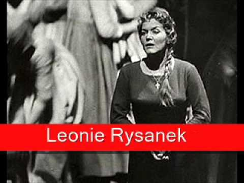 Leonie Rysanek Wagner Der fliegende Holländer 'Senta's Ballade'