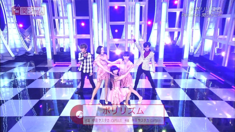 Perfume x Kanjani8 - Nee Polyrhythm (Kan Jam 2015.06.21)