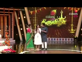 Indian girl in heels lift a boy easily