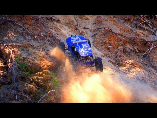 RC Cars in Action party Axial Wraith Traction Hobby Cragsman Land Rover
