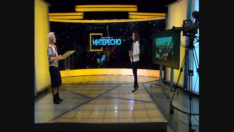 Исполнительный директор ВК Узорочье в программе Интересно на телеканале Ника ТВ