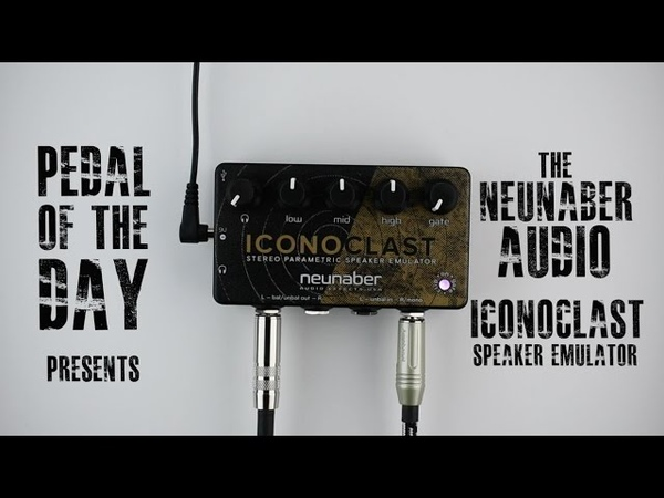 Neunaber Audio Effects Iconoclast Stereo Parametric Speaker Emulator Guitar Effects Pedal Demo Video