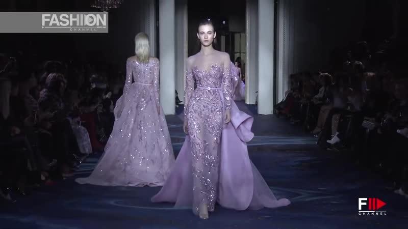 ZUHAIR MURAD Haute Couture Spring 2019 Paris Fashion Channel