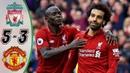 🔥 Ливерпуль - Манчестер Юнайтед 5-3 - Обзор Матча Чемпионата Англии 2017/2018 HD 🔥