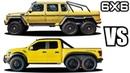 Hennessey VelociRaptor 6X6 VS Mercedes-Benz G63 AMG 6x6