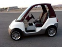 INNOVATION MOTORSPORTS ELECTRIC SMART CAR, INCREDIBLY RARE BOMBARDIER NEV GOLF CART, ALL NEW