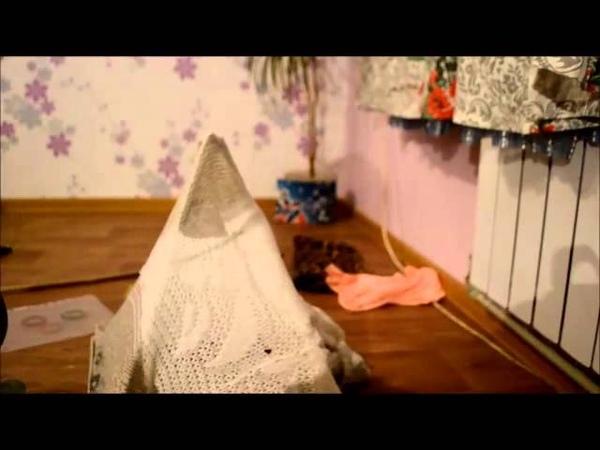 Делаем домик для кошки из старого свитера|W S C I E K L E K O T Y|Decor