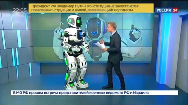 Говорящий робот из Сколково · coub, коуб