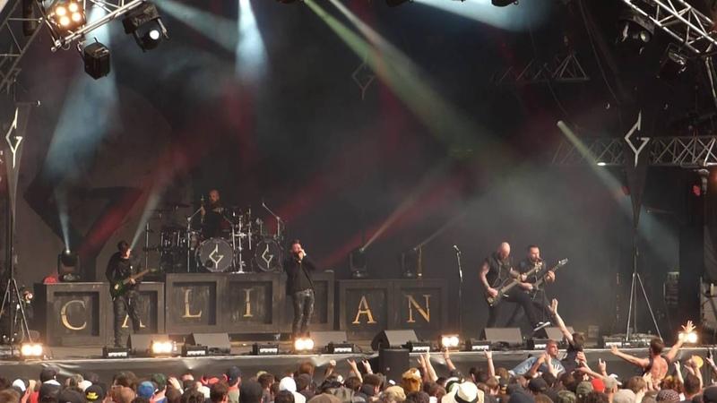 Caliban live le 19/06/16 au Hellfest Open Air Festival 2016 à Clisson