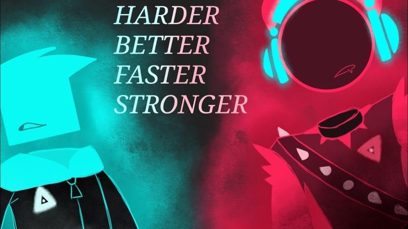 Harder Better Faster Stronger meme (JSAB)