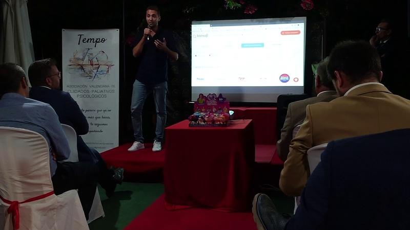 La primera presentación del nuevo portal.