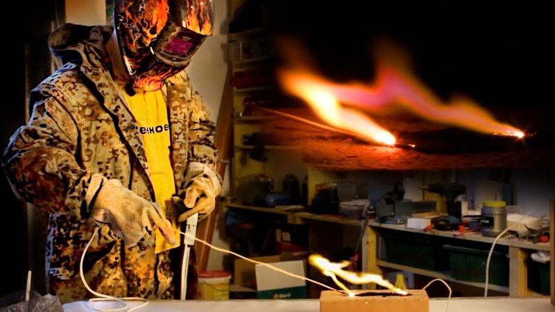🔥 Высокое напряжение против САЖИ! Можно ли очистить дымоход от сажи с помощью электричества?