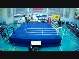 мои соревнования по боксу полу финал в Чапаевск я в красном