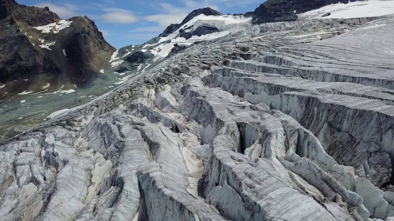 Bekir Ozturk - Windfall [Original Mix]   Drone Footage   Flying over the Swiss Alps. Part I