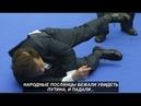 Народные посланцы бежали увидеть Путина и,... падали №1110