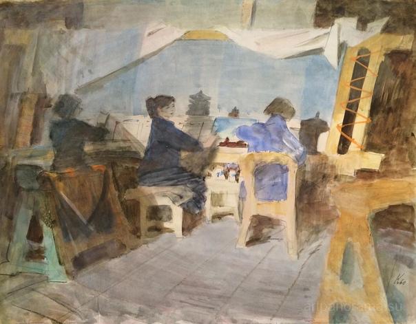 Ювеналий Коровин (7 января 1914 1991) «Если бы я не был художником, то постарался бы стать композитором. В музыке те же принципы построения» «Мечтаю написать что-то светлое ... Когда