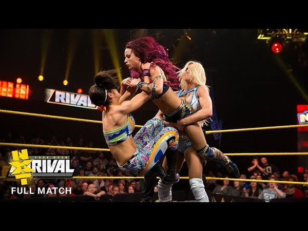 FULL MATCH: Charlotte vs. Bayley vs. Banks vs. Lynch - NXT Fatal 4-Way Match: NXT TakeOver: Rival