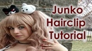 Junko Enoshima Cosplay Tutorial Part 7 Monokuma Hairclips